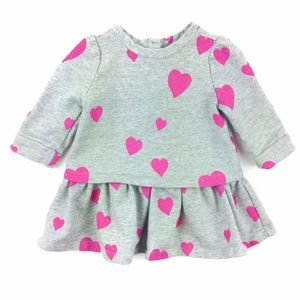 BabyGap Sweatshirt Ruffle Dress